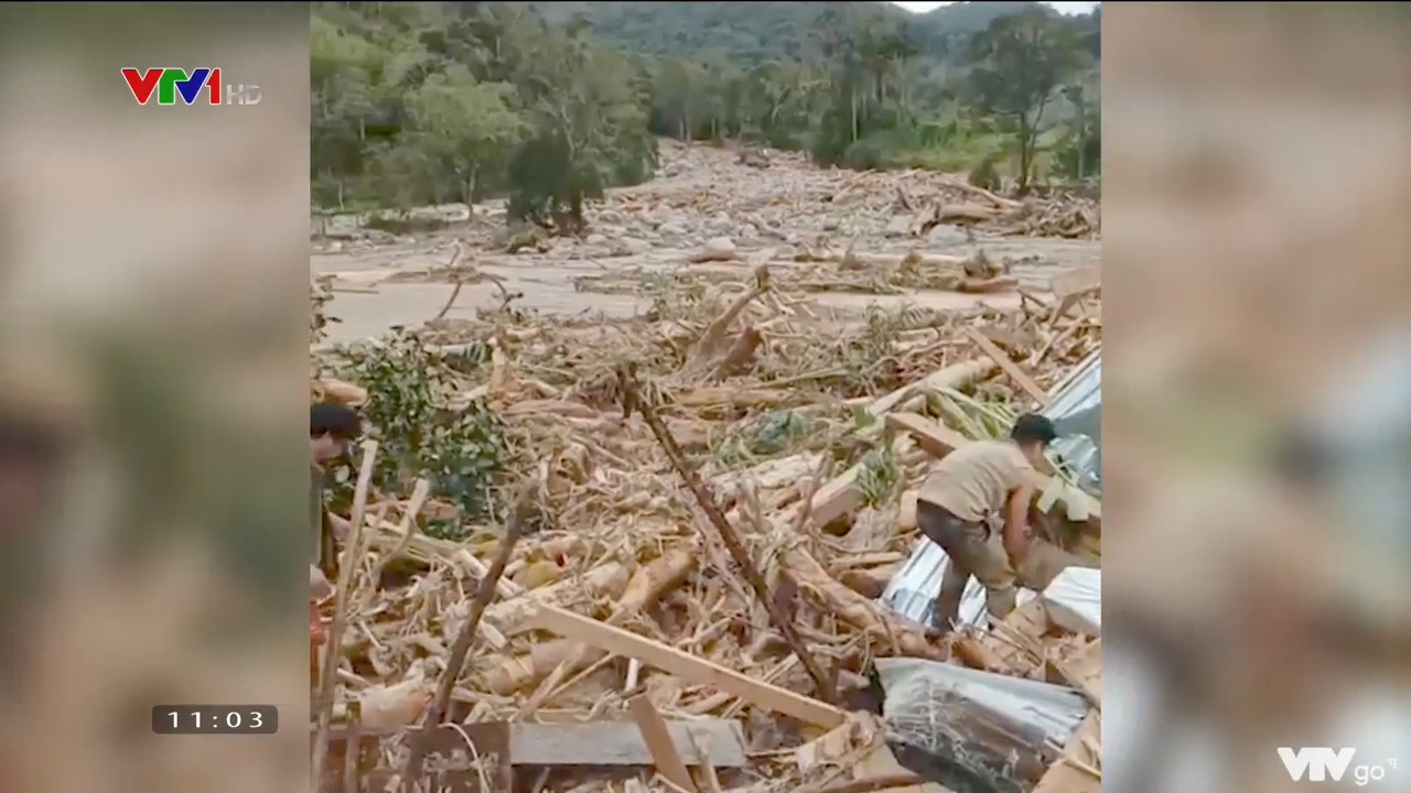 Lại thêm 1 vụ sạt lở ở Quảng Nam | Tìm thấy thêm 1 thi thể nạn nhân sạt lở núi ở xã Trà Leng