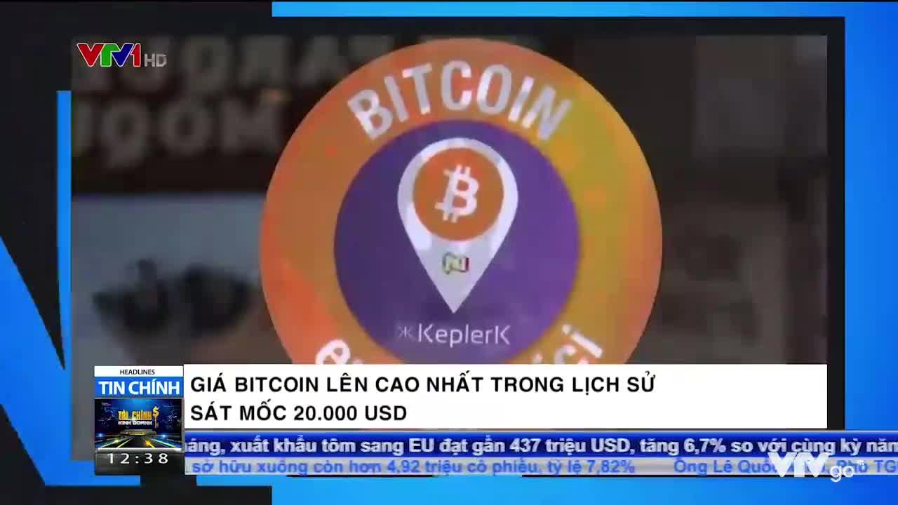 Tài chính Kinh doanh trưa | 01/12/2020 | Giá Bitcoin lên cao nhất trong lịch sử