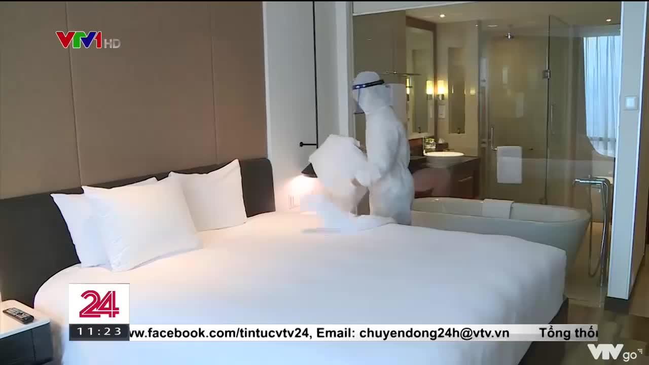 Hà Nội: Tăng cường giám sát phòng chống dịch COVID-19 tại khách sạn  Chuyển động 24h