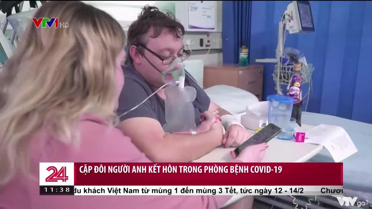 Kết hôn trong phòng bệnh COVID-19 | Chuyển động 24h