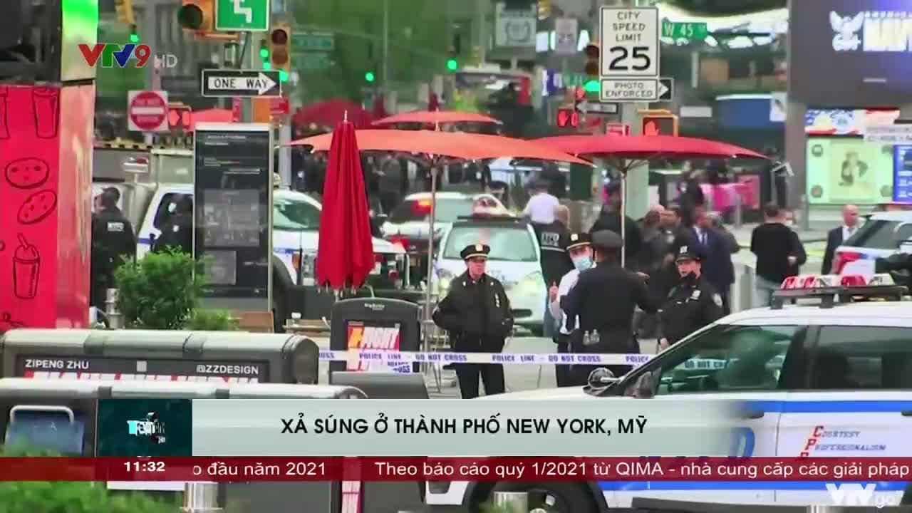 Toàn cảnh trưa VTV9   09/05/2021   Xả súng ở Tp. New York, Mỹ