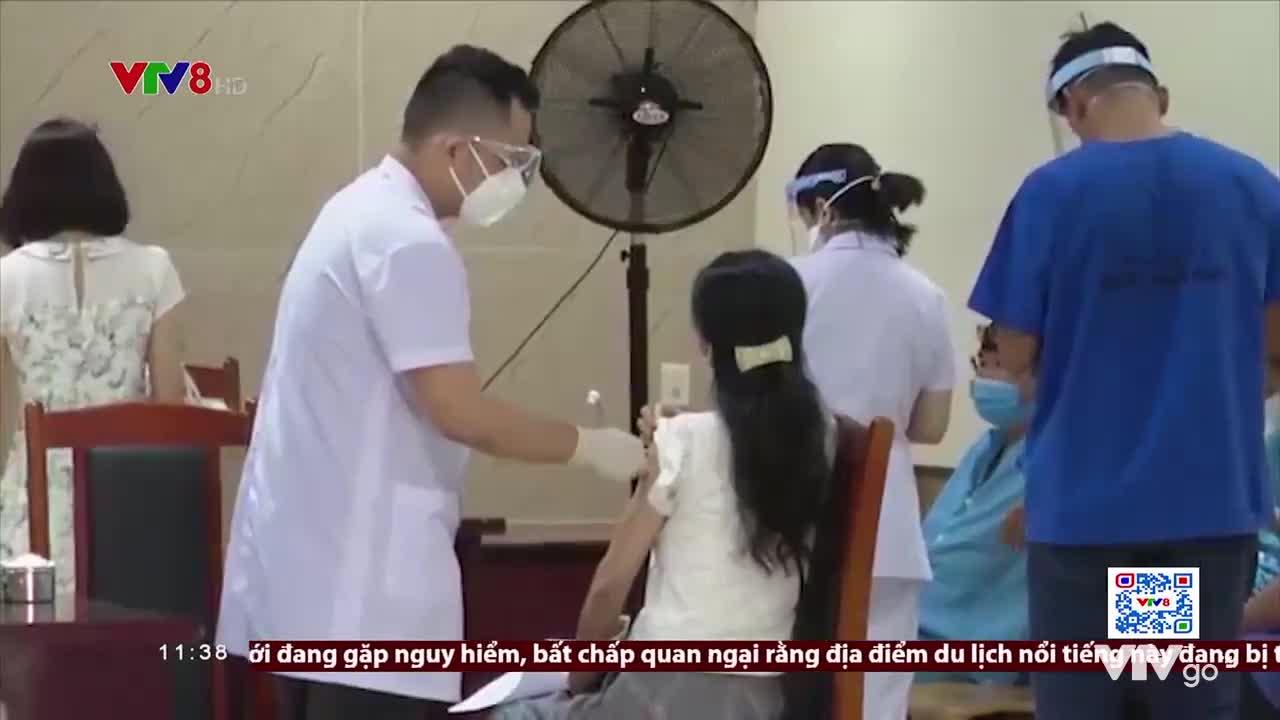 Thời sự 11h30 VTV8   24/07/2021   Đà Nẵng : Bình tĩnh ứng phó với dịch bệnh